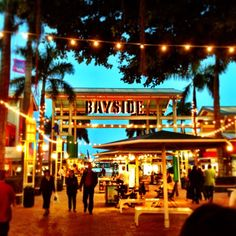 Bayside Marketplace in Miami, FL - You'll find a stretch of eateries at both places sure to make your wallet and stomach happy.