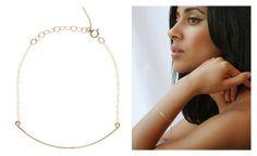 'Curved Wire Bracelet B37' byBy Boe. http://t-h-i-n-g-s.blogspot.com