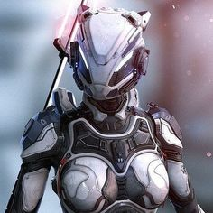 Code Name: Deep Eyes - Sculpted in Zbrush. Female Cyborg, Female Armor, Arte Cyberpunk, Cyberpunk Girl, Character Concept, Character Art, Character Design, Armor Concept, Concept Art