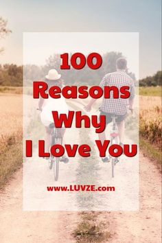 Are you looking for the perfect words to express your love to your boyfriend/girlfriend or husband/wife? Here are 100 reasons why I love you list.