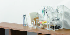Lets get organised! - Acrylic storage from Muji Online