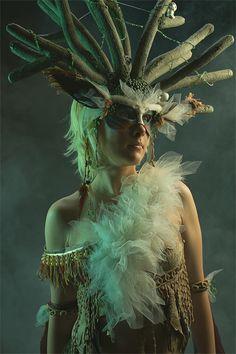 Forest God: Magic in the Mist by Kudrel-Cosplay.deviantart.com (from Princess Mononoke)