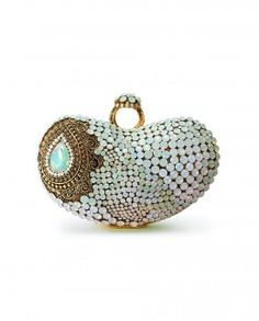 Meera Mahadevia-Ring of Desire Swarovski Embellished Ring Handle Clutch Box
