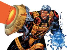 Cable by Ian Churchill Cable Marvel, Marvel Dc Comics, Marvel Heroes, Nathan Summers Cable, Old Man Logan, Fantasy Comics, Marvel Comic Character, Superhero Design, Thing 1