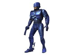 "7"" Robocop (Classic Video Game Appearance) - Robocop Action Figures"