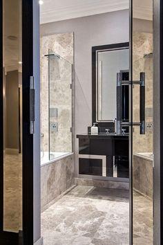Hill House Interiors #bespoke Bathrooms