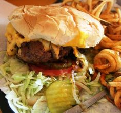 Nic's Grill in OKC, Oklahoma - thank you Diners, Drive Ins and Dives