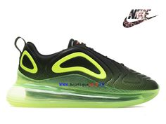 official photos 30c7f c6a79 Officiel 2019 Nike Air Max 720 Gs Chaussures De Basket Pas Cher Femmes Vert  noir AO2924