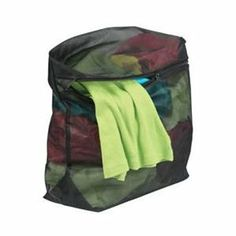 Features: -Laundry collection. -Protects fine garments in the washing machine. -Unique zipper pocket secures zipper and prevents snags. -Expandable for larger garment.
