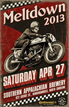 #moto #vintage #speedway #poster #motocycle