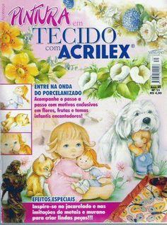 FREE MAGAZINE! ..Pintura em tecido acrilex n31 - M Andrade - Picasa Web Albums!