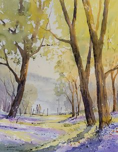 Gallery of Oliver Pyle's landscape paintings in Spring