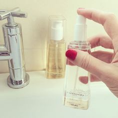 Adding a little Radiant Glow Kukui Oil to our daily routine