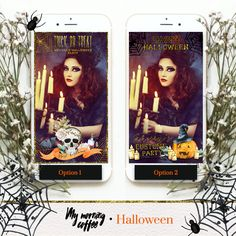 This listing is for a Custom Snapchat Geofilter to celebrate Halloween!!! 50% Off *All wording is cutomizable*  ♥ T H E - L I S T I N G  • This is a custom listing so it will not be available for Instant Download. • Uploading your Geofilter to Snapchat IS NOT INCLUDED in this listing.  ♥ H O W - I T - W O R K S  Feel free to message me to go through any questions before your purchase :) The general process is below:  Once your order is placed, Ill need the info required below…