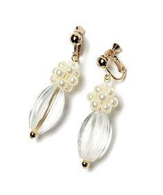 古着屋さんに置いてありそうな、アンティークな雰囲気がとってもおしゃれなイヤリング。 選ぶのも楽しくなるアソートデザインで、大ぶりモチーフで仕上げた存在感ばっちりのアイテムです。 ■原産国:日本 Big Earrings, Beaded Earrings, Earrings Handmade, Resin Jewelry, Gemstone Jewelry, Beaded Jewelry, Handmade Accessories, Handcrafted Jewelry, Wire Wrapped Earrings