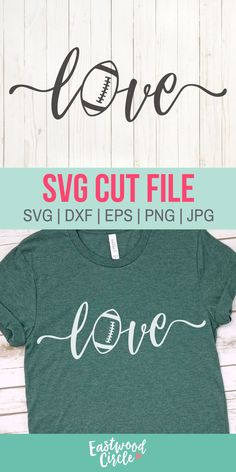 This football SVG file works great with the Cricut and Silhouette Cameo for crafters to make DIY projects such as shirts, signs, mugs, and more! Works great with heat transfer vinyl. Football Shirt Designs, Football Shirts, Sports Shirts, Circuit Projects, Vinyl Projects, Game Day Shirts, Football Love, Retro Girls, Vinyl Shirts