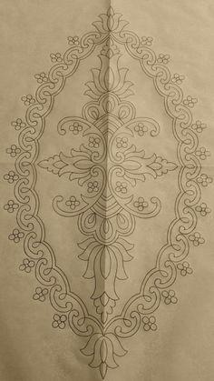 Hand Embroidery Design Patterns, Hand Work Embroidery, Embroidery Flowers Pattern, Hand Embroidery Patterns, Ribbon Embroidery, Embroidery Stitches, Machine Embroidery, Hai Tattoos, Motifs Perler