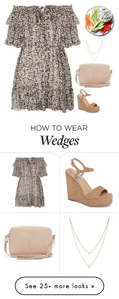 """#7508"" by azaliyan on Polyvore featuring Zimmermann, Steve Madden, Yves Saint Laurent and EF Collection #fashionfallmens"