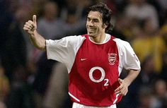 Arsenal Heroes; Robert Pires.   'Hey, Bobby... What is the French for 'va va voom'?'