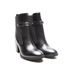 Armani Jeans Ankle Leather Boots