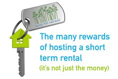 The rewards of hosting a short term rental (beyond money) | Ferny Hill Retreat Important Facts, Holiday Apartments, Romantic Couples, Travel Couple, Emerald, Money, Silver, Emeralds, Couples