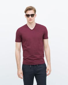 Image 2 of SUPERSLIM T-SHIRT from Zara
