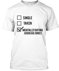 Wish | Riverdale Mentally Dating Jughead Merch Hanes Tagless Tee