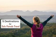 Picking a destination to explore for the first time as a solo traveler can be daunting. After 8 years of solo travel here are my top 5 suggestions.