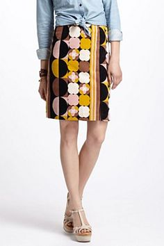 Geo-Mod Pencil Skirt | Anthropologie.eu #anthropologie