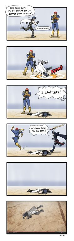 Chrom's Sweet Smash Bros. 4 Trailer by mivion.deviantart.com on @DeviantArt How the trailer really happened..........