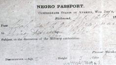 Long-lost identities of slaves uncovered in old Virginia papers