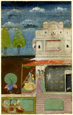 Gujari Ragini.       Rajasthan School,     Jaipur Style.   Date      1700 (circa)