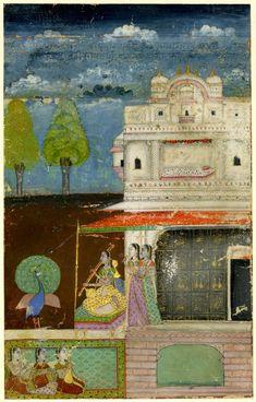Gujari Ragini.       Rajasthan School,     Jaipur Style.   Date      1700…
