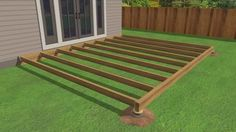 Building a terrace out of wood construction Image title Build Decking Step 19 previe. Pergola Designs, Deck Design, Pergola Kits, Petite Pergola, Terrace Building, Construction Images, Wood Construction, Terrasse Design, Laying Decking