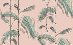 Palm Leaves Behangpapier
