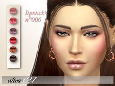 Sims 4 CC's - The Best: Lipstick by Altea127