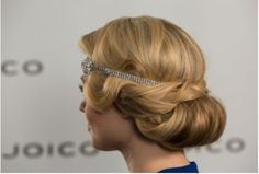 Holiday Hair How To: An Elegant, Gatsby-Inspired Faux Bob by Joico | Beauty Launchpad
