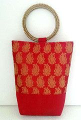 Maroon colour  Designer Clutches : Tejal Collection -  YF-40800