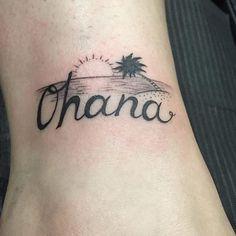 ohana Hawaiian tattoo #hawaiiantattoosmeanings #hawaiiantattoosislands