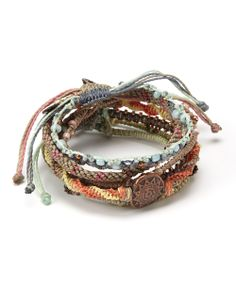Morning Earth Bracelet Set   Daily deals for moms, babies and kids