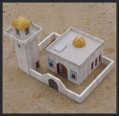 A Mosque Free Building Paper Model Download