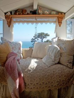 Cozy place to curl up and daydream (or read or nap or or or ...)