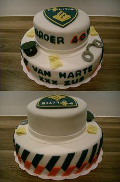Politie taart / Police cake