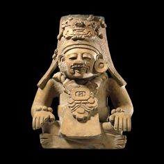 Pottery Ancestor Figure by  Unknown Artist British Museum