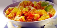 Recipe: Caribbean Curried Prawns and Pineapple from P & O Cruises