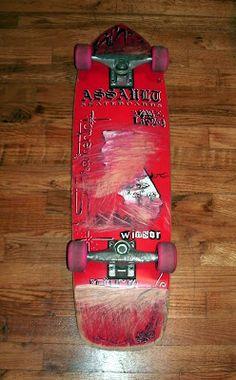 Assault Skateboards Ricky Winsor SSD Sac Lifer Curb Crusher.