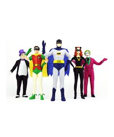 Look what I found on #zulily! Batman Bendable Figure Boxed Set by Batman #zulilyfinds