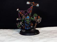 Warhammer 40.000 Orks mek miniature painted by me! Sirio ;)