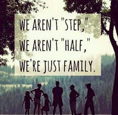It isn't perfect and it isn't 'normal...' but what is normal anyway?  We love each other and we have one another's backs...we will always be there when the others need us.  That.  Is.  Family.