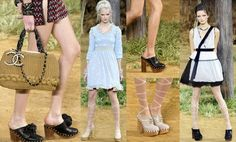 Chanel: clogs